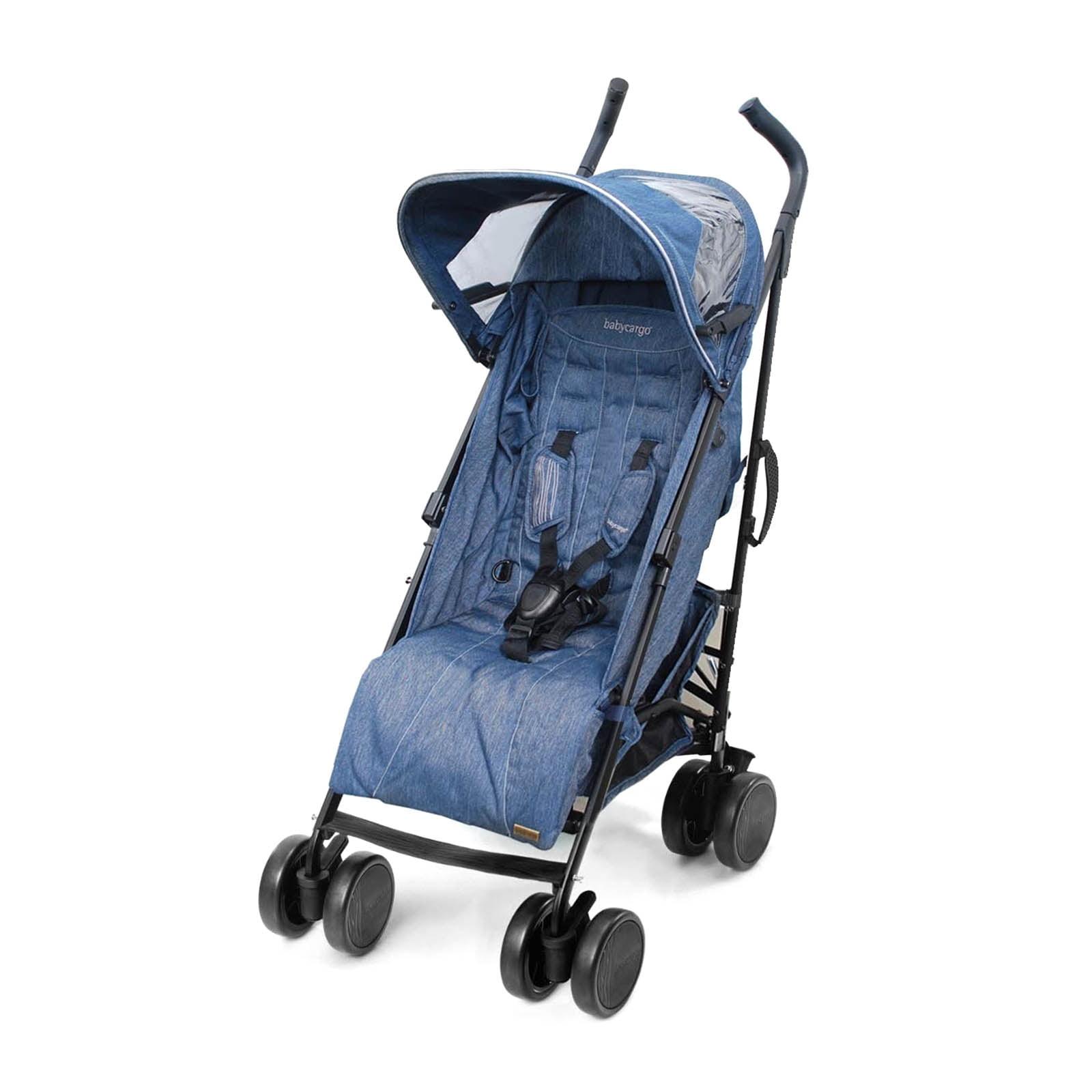 Baby Cargo 300 Series Lightweight Umbrella Stroller (Denim) by Baby Cargo
