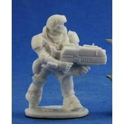 Reaper Miniatures Aztec, IMEF Trooper #80048 Chronoscope Bones D&D Mini Figure