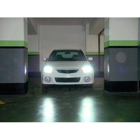 New Mazda Protege Protege5 323 Familia Bright White Light Bulbs Headlamps Headlights Head Lamps Lights