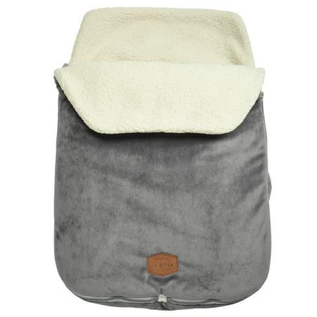 JJ Cole Original Bundleme, Infant Bundle Bag, Stroller Footmuff, Ages 0-12 Months, Graphite