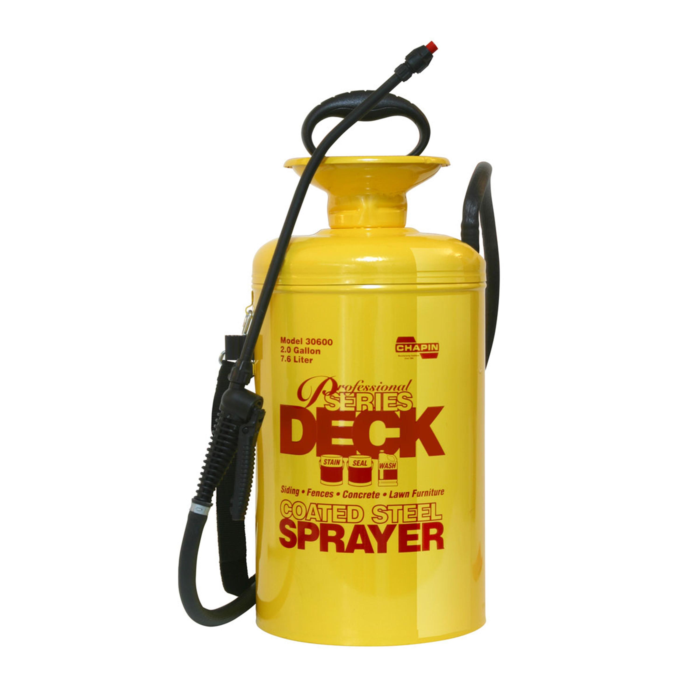 Professional Deck Tri-poxy® Steel Sprayer - 2 Gal