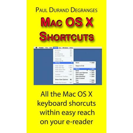 Mac OS X Shortcuts - eBook