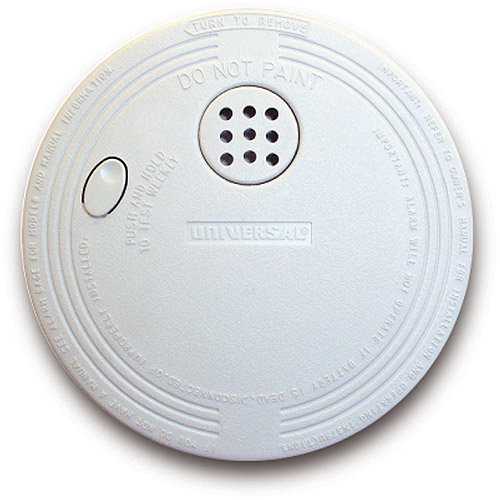 Universal Security Instruments SS-770-6CC Ionization Fire and Smoke Alarm, Mini, 6pk Bulk Pack