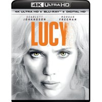 Lucy on 4K UHD Blu-Ray Digital HD