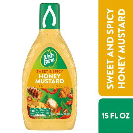 Wish-Bone Sweet & Spicy Honey Mustard Dressing, 15 FL OZ