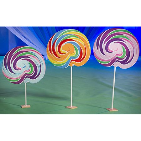 5 ft. to 6 ft. Sweet Lollipop (Lollipops Set)