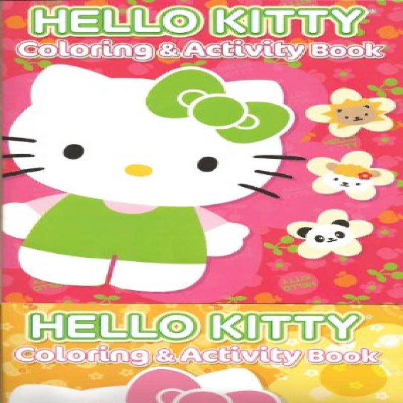 Hello Kitty Set of 2 Coloring & Activity Books by