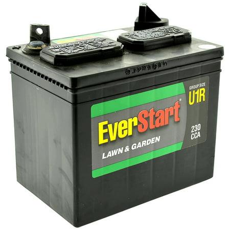 12 pack everstart lawn garden battery u1r for Walmart lawn and garden battery