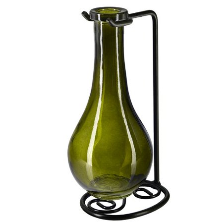 Couronne Drop Recycled Glass Table Vase ()