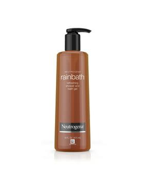Neutrogena Rainbath Refreshing and Cleansing Shower and Bath Gel, Moisturizing Body Wash and Shaving Gel with Clean Rinsing Lather, Original Scent, 16 fl. oz