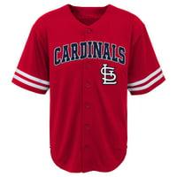 Product Image MLB St Louis CARDINALS TEE Short Sleeve Boys Fashion Jersey  Tee 60% Cotton 40% 5c1b5a88fb