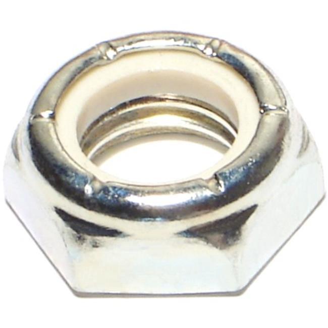 Midwest Fastener MF71902 0.62-11 Nylon Locknut-Thin - 5 Piece