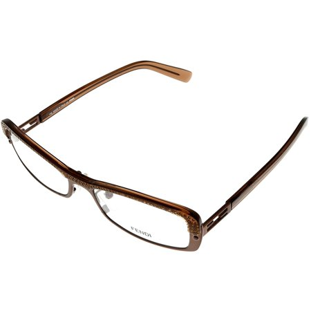 99392dd92920 Fendi Prescription Eyeglasses Frames Womens F728R 210 Brown Rectangular  Size  Lens  Bridge  Temple  52-16-140-27 - Walmart.com
