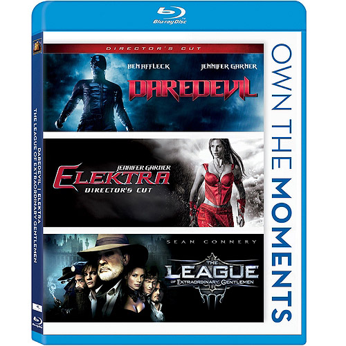 Daredevil / Elektra / The League Of Extraordinary Gentlemen (Blu-ray) (Widescreen)