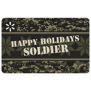 Camouflage Holiday Walmart eGift Card