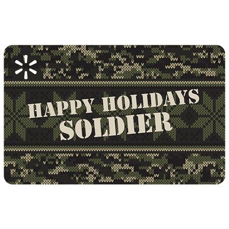 Camouflage Holiday Walmart eGift Card