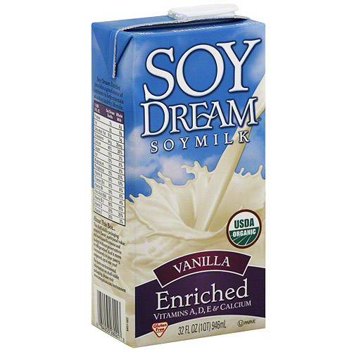Soy Dream Vanilla Enriched Soy Milk, 32 oz (Pack of 12)