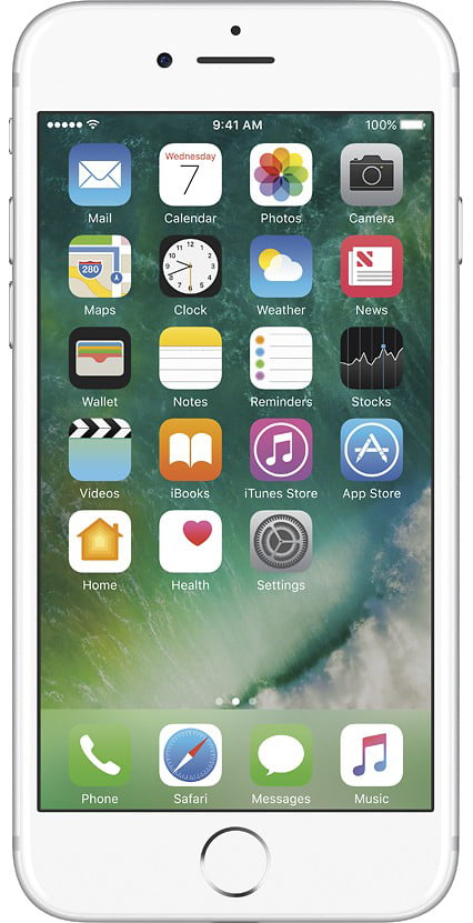 Refurbished Apple iPhone 7 128GB, Silver