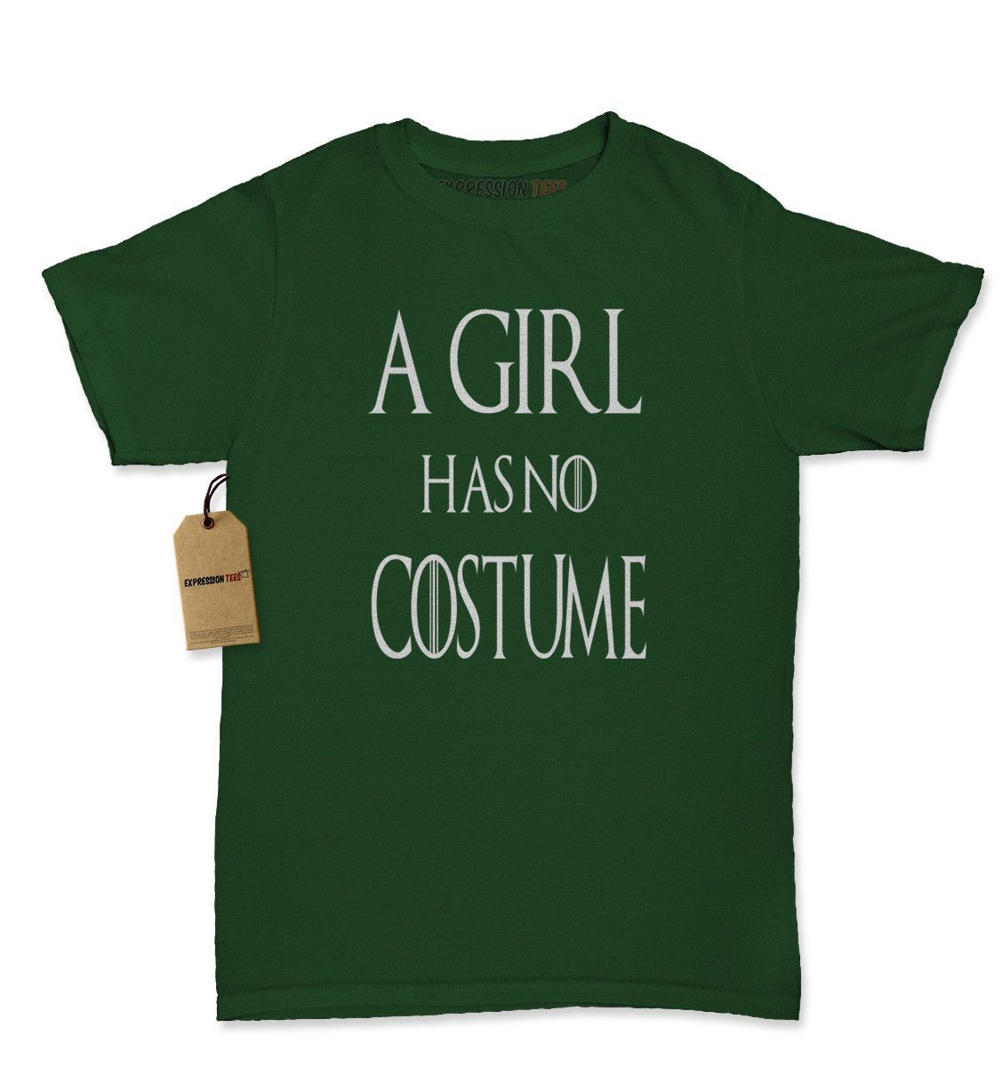 A Girl Has No Costume GoT Womens T-shirt