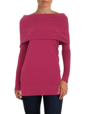 fe5736c6b8 Product Image Lafayette 148 New York Womens Convertible Off-The-Shoulder  Sweater