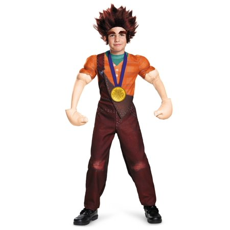 Child Deluxe Wreck It Ralph Costume - Halloween Costumes Wreck It Ralph