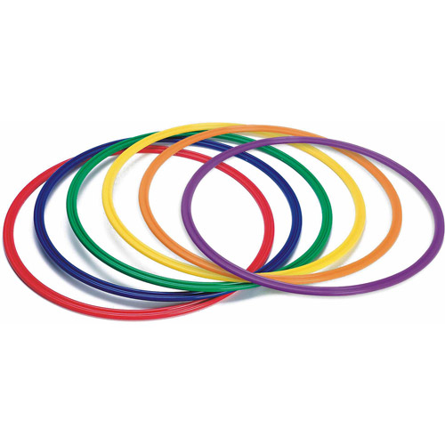 "26"" Spectrum Flat Hoops, Set of 6"