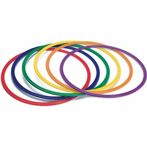 "26"" Spectrum Flat Hoops, Set of 6"