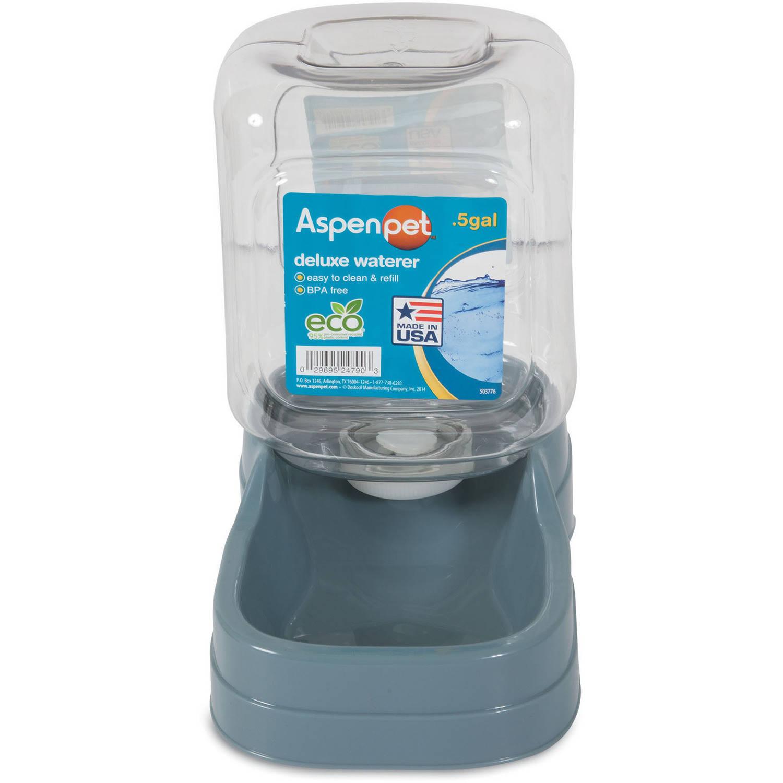 (2 Pack) Aspen Pet 0.5 Gallon Water Fountain
