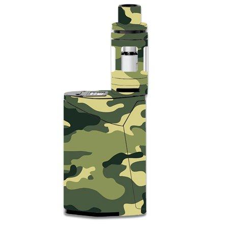 Skin Decal For Smok Gx350 Kit Vape Mod / Green Camo Original Camouflage