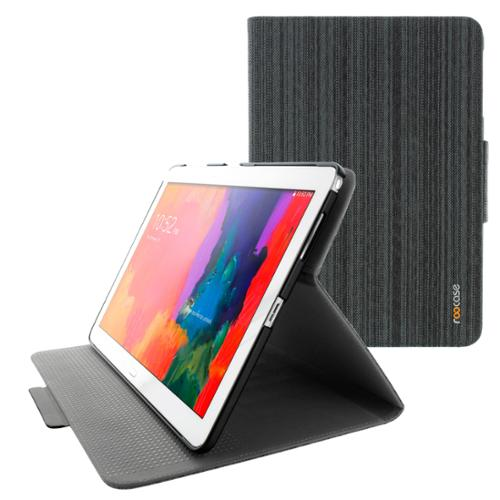 "Samsung GALAXY Tab Pro / Note 12.2 Case - rooCASE Orb System Folio 360 Dual View Leather Case Smart Cover with Sleep / Wake Feature for GALAXY Tab Pro 12.2"" /  GALAXY Note Pro 10.1"" (Canvas Black) -"