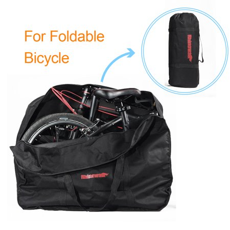 16/20-inch Bike Travel Bag Case Bicycle Folding Bike Carrier Bag Carry Bag Pouch ()