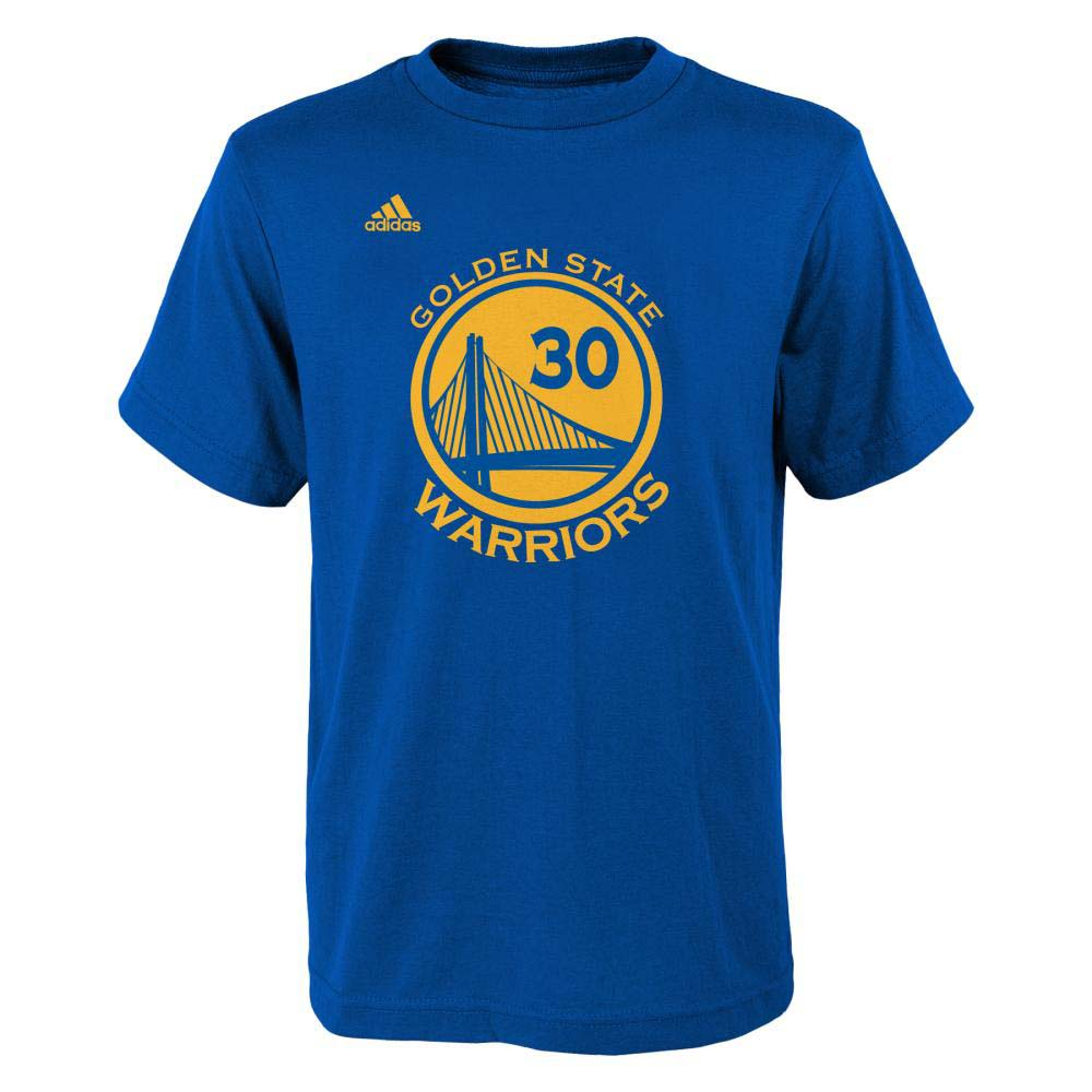 Stephen Curry Golden State Warriors Youth Gametime Name And Number T-Shirt (Royal)