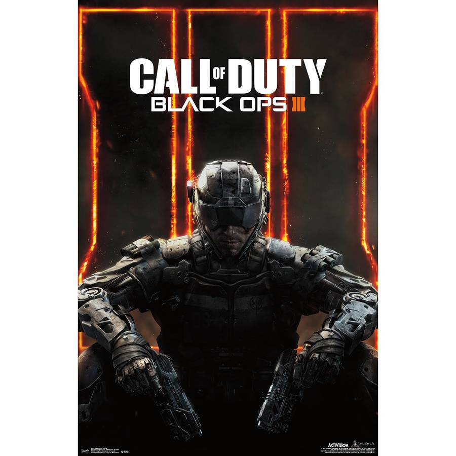 """Call Of Duty Black Ops 3 Poster 22""""X34""""-"""