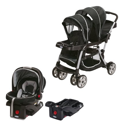 Graco Double Baby Stroller SnugRide Car Seat Base Travel System