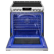 6.3 Cu. Ft. Induction Slide-In Range With Probake Convection And Easyclean In Stainless Steel