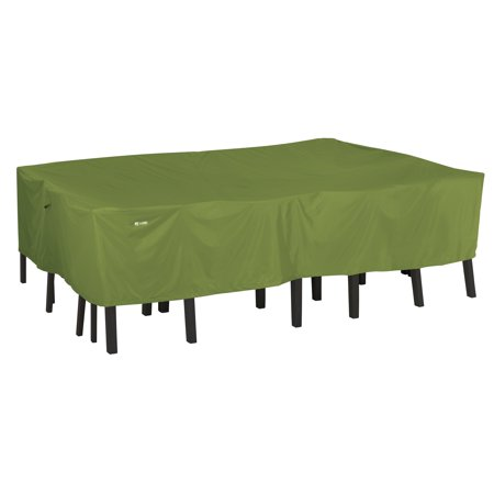 Classic Accessories Sodo™ Rectangular/Oval Patio Table & Chair Set Cover - Tough and Weather Resistant Patio Set Cover, Small (55-342-031901-EC) ()