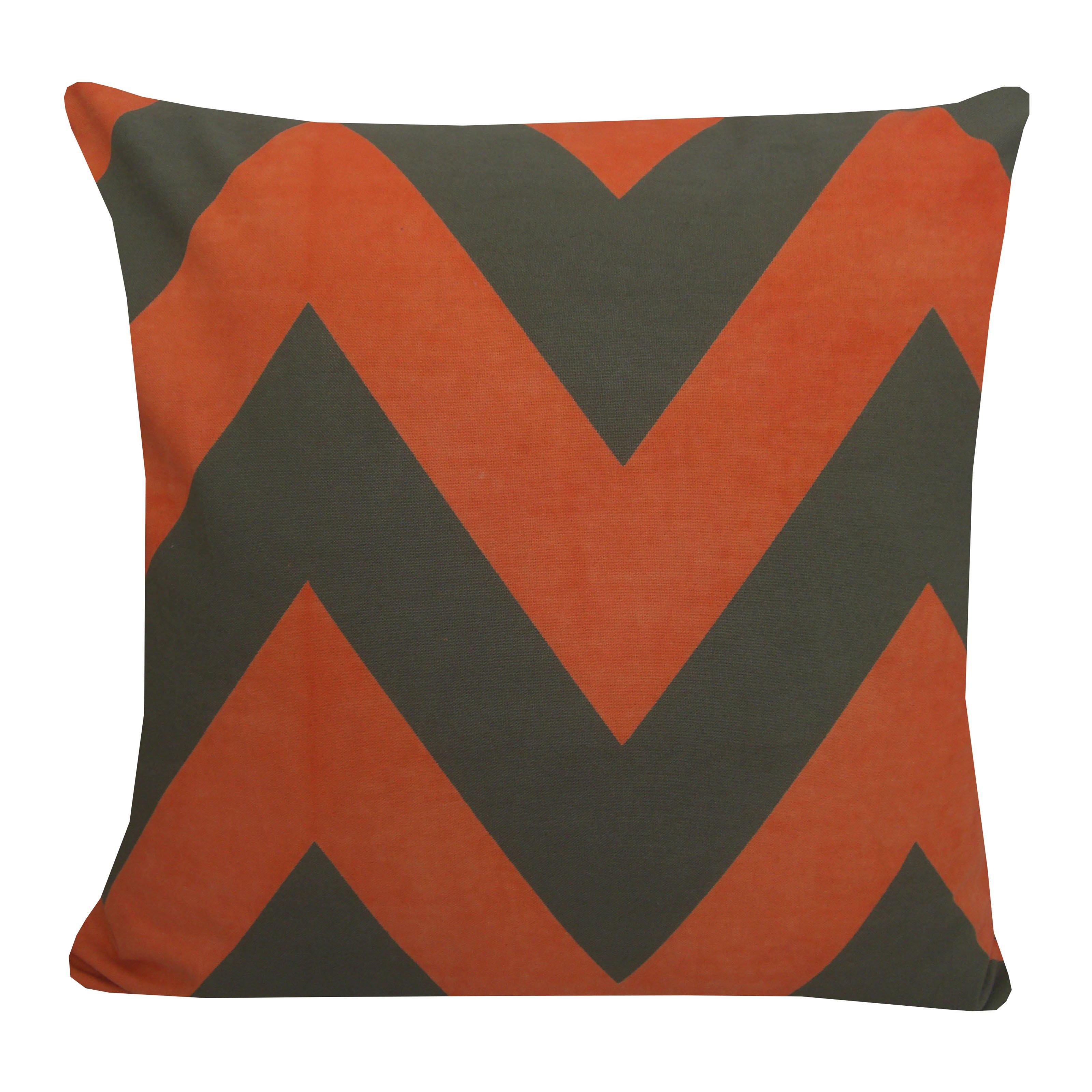 Divine Designs Wide Chevron Decorative Throw Pillow