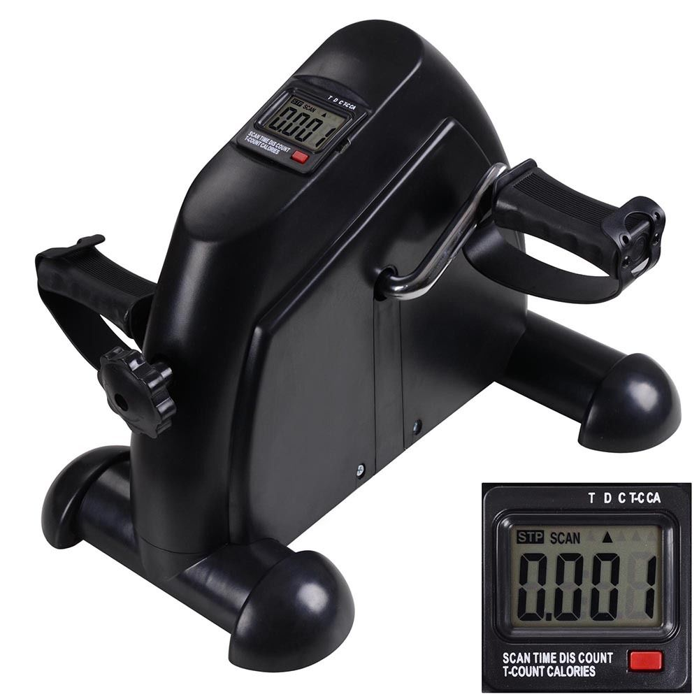 Mini Cycle Pedal Exerciser Exercise Bike Indoor Fitness exercise pedals With LCD Display