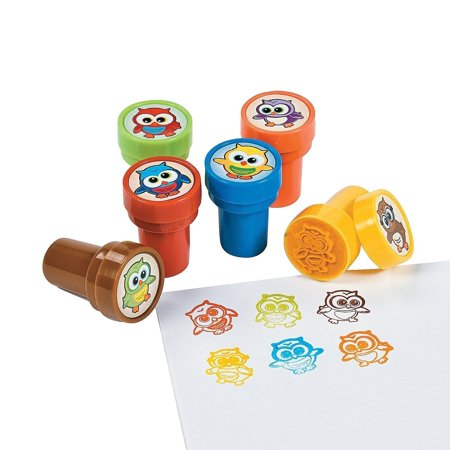 Owl Stampers Party Favor Stamps - 48 Pieces (2Pack). Great for teachers, gifts, parties, kids of all ages. What a Hoot at your next party., 24.., By Fun Express