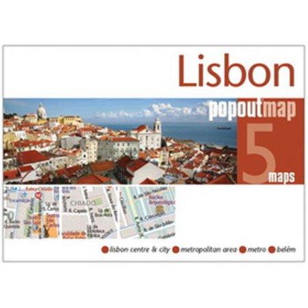 Universal Map 27166 Lisbon Popout Map - image 1 de 1