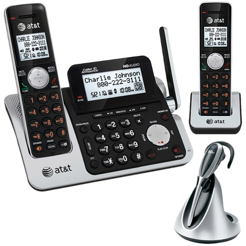 VTech Communications At&T Dect6 Expandable Cordless Phone/Ans System