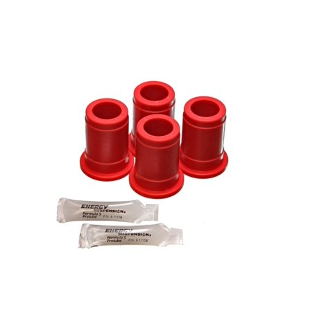 Energy Suspension 86-88 Toyota 4 Runner/PickUp Red Front Control Arm Bushing Set (Lowers ONLY) Bushing Set Toyota Pickup