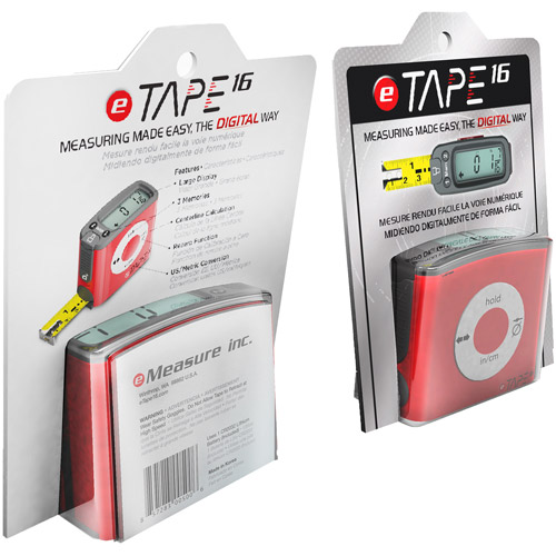 eTape16 16' Digital Tape Measure