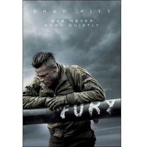 Fury (2014) (DVD   Digital Copy) (With INSTAWATCH) (Widescreen)