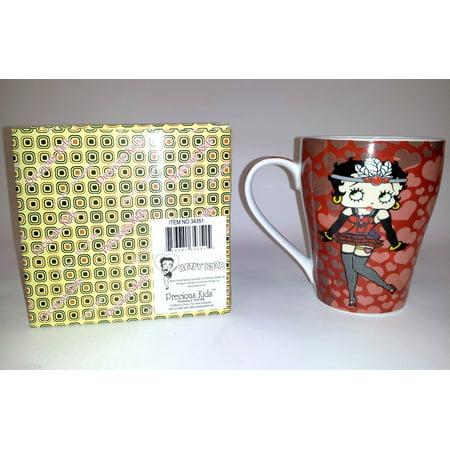 Betty Boop Coffee Mug (Betty Boop 12oz Coffee Mug with Gift Box Tea )