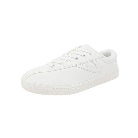 Tretorn Women's Nylite Plus Canvas Vintage White / Fashion Sneaker - 6.5M (Adidas Vintage Sneakers)