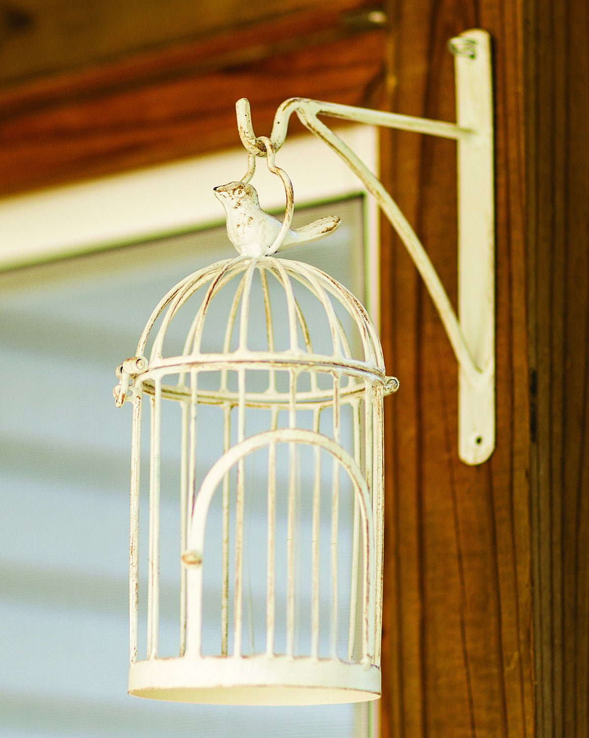Wall Hanging Bird Cage Antique Whit Walmart Com Walmart Com