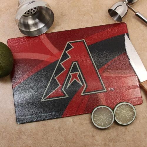 Arizona Diamondbacks 8'' x 11.75'' Carbon Fiber Cutting Board - No Size
