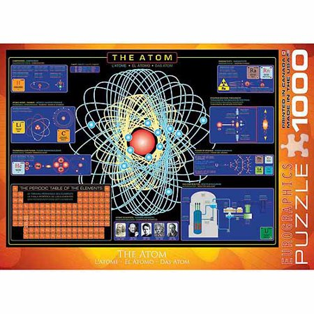 EuroGraphics The Atom 1000-Piece Puzzle