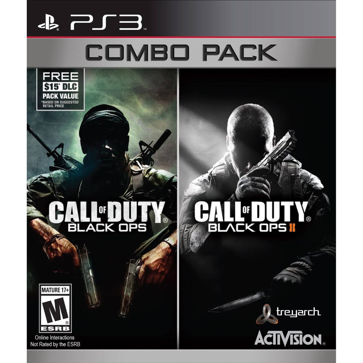 Call of Duty: Black Ops & Black Ops 2 w/ First Strike Map Pack, Activision, PlayStation 3, 047875874367